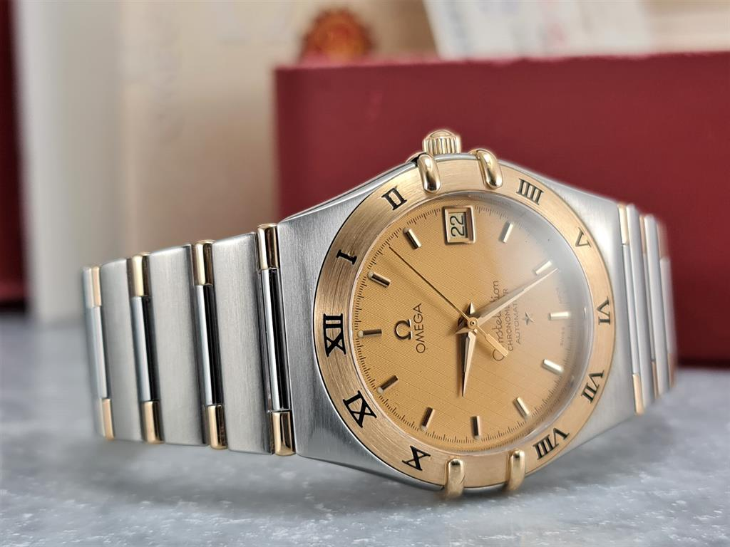 omega-constellation-automatic-steel-gold-36mm-ref-13021000 -bracelet--2003-2