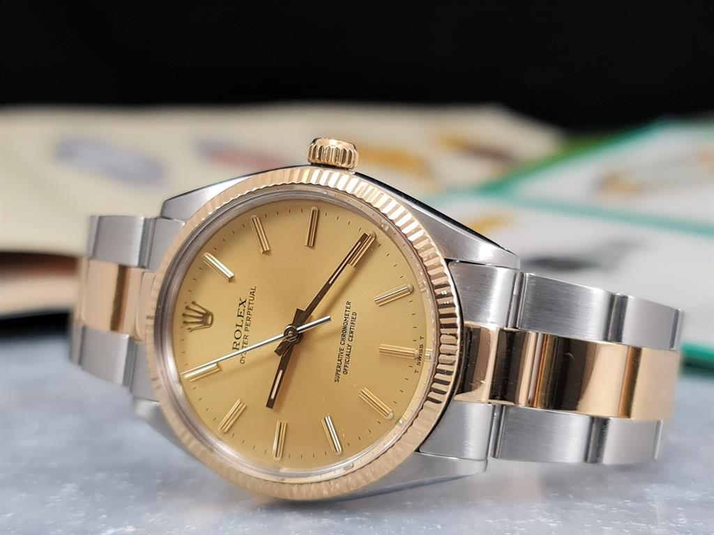 rolex-oyster-perpetual-1005-steel-gold-champagne-dial-oyster-1983-12